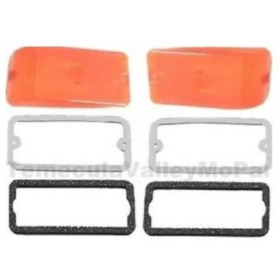 Parking Lens & Gasket Set for 1964-1970 Dodge A100/A108 Trucks & Vans