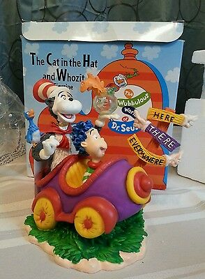 The Cat in the Hat and Whozit Figurine Here or There new in  Box