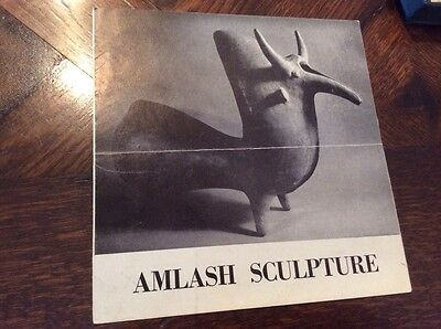 Vintage 1964 AMLASH Sculpture Exhibition CATALOG Bertha Schaefer Art Gallery