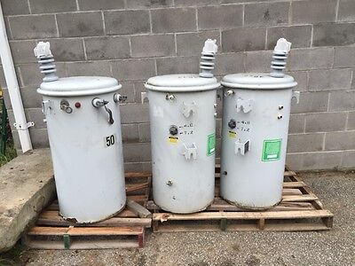 General Electric Transformers 50k Lot of 3