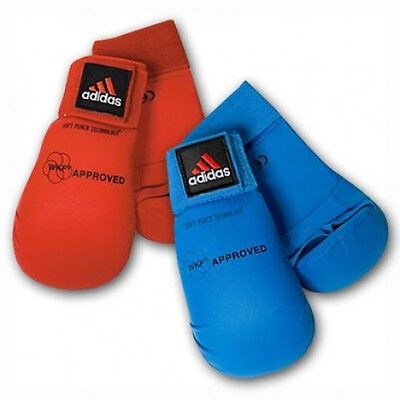 Adidas WKF Approved Karate Mitt Glove Red or Blue