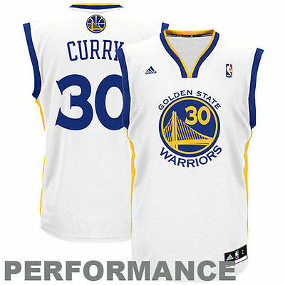 NBA Golden State Warriors Stephen Curry #30  Youth Jersey - White