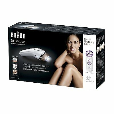 Braun Silk-expert IPL BD5009 Permanent Visible Hair Removal Body Face NEW!