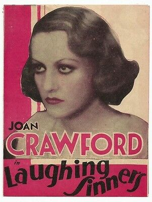 Laughing Sinners 1931 MGM movie herald Joan Crawford Clark Gable zaz Ӝ