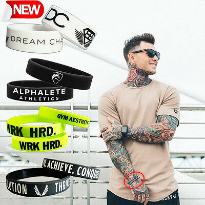 Fashion Sports Baller Silicone Rubber bracelet wristbands Hand Catenary