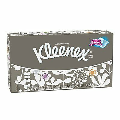 Kleenex Everyday Facial Tissues, Low Count Flat, 85 ct, Pack of 36