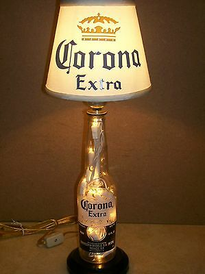 Corona Light Beer Bottle Lamp