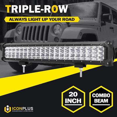 20INCH 441W PHILIPS LED Work Light Bar SPOT FLOOD Combo Offroad Truck 4x4WD 23""
