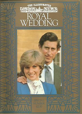 The Illustrated London News Royal Wedding Prince Charles & Princess Diana