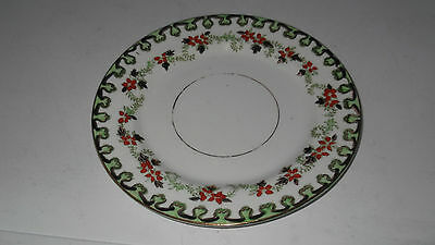 Sutherland Art China  Side Plate With A Red Floral Pattern