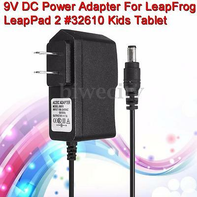 DC 9V Wall Charger Power Adapter For LeapFrog LeapPad 2 #32610 Kids Tablet New
