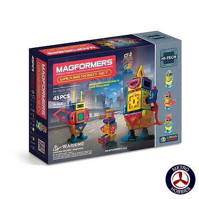 Magformers Walking Robot Set 709004 Brand New