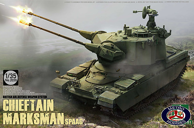 Takom 1/35 British Air-defense Weapon System Chieftain Marksman SPAAG 2039 Brand