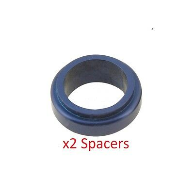 2 Blue 17mm x 20mm Alloy Wheel Spacers Prokart Cadet  UK KART STORE