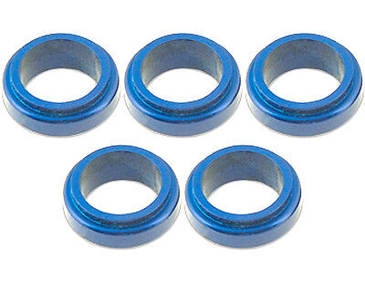 5 Blue 17mm x 10mm Alloy Wheel Spacers Prokart Cadet  UK KART STORE