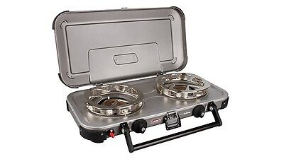Coleman Hyperflame Fyreknight for Cooking, Reliable & Functional Camping Stove