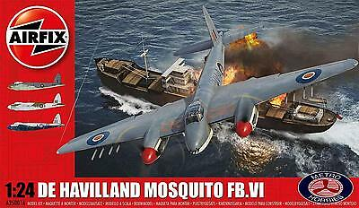 Airfix 1/24 de Havilland Mosquito FB.VI 25001A Brand New