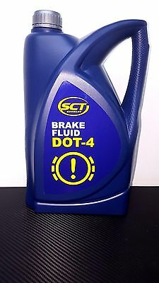 5L Dot 4 Synthetic Brake Fluid - Free Postage
