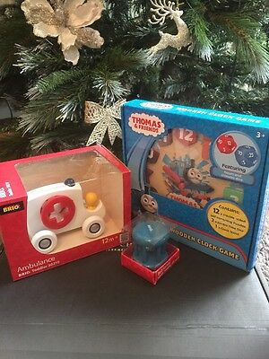 Brio Toddler And Thomas Wooden Toy Bundle New Sealed