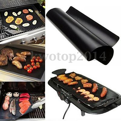40x100cm BBQ Reuseable Liner Non-Stick Barbecue Cooking Grill Baking Mat Sheet