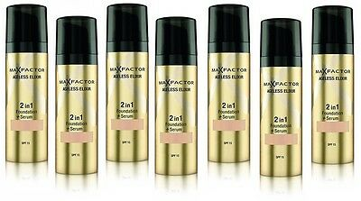 Max Factor Ageless Elixir Foundation & Serum - Choose your Shade