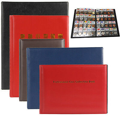 Collection Storage Penny Pockets Money Stamp Album Book Collecting Coin Holders