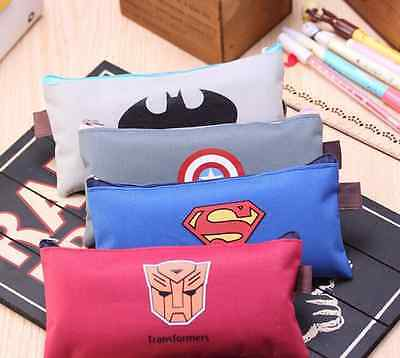 The Avengers Student Pencil Pen Case Cosmetic Holder Makeup Bag