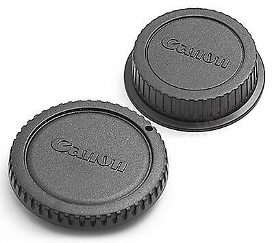 Genuine Body and Rear lens caps for CANON EOS camera & EF & EF-S lens 5D 7D 70D