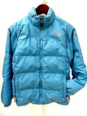 Girls THE NORTH FACE 600 Series WARM DOWN PUFFA JACKET Size LARGE (977)