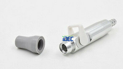 Dental Saliva Ejector Suction Valves Adaptor weak Suction with silicone tip 1PC