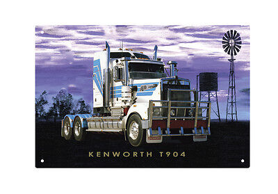 KENWORTH TRUCK T904 TIN SIGN 20 X 30 cm.  KENWORTH T904 TIN SIGN 20X30 cm  small