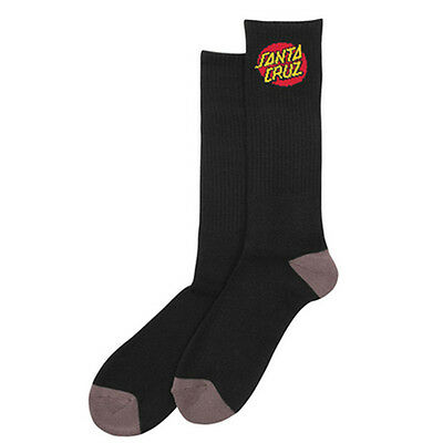 Santa Cruz - Cruz 4 Pack Youth Socks Black