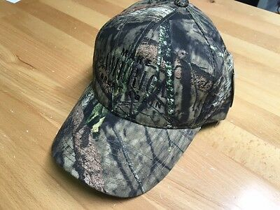 MAKE AMERICA GREAT AGAIN Donald Trump Mossy Oak Camo Cap Black Embroidery