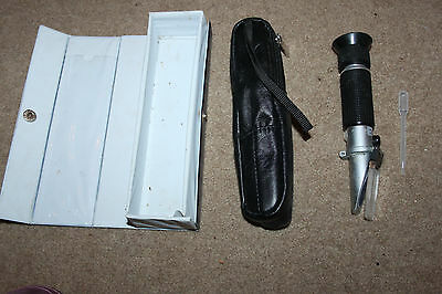 Portable Refractometer - D D the Aquarium Solution Marine Reef Tank Fish Keeping