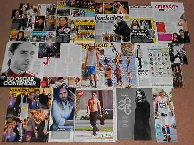 35- JARED LETO Magazine Clippings