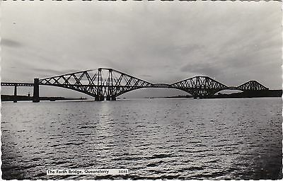 The Forth Bridge From East, SOUTH QUEENSFERRY, West Lothian RP