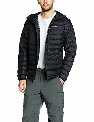 Columbia Powder Lite Piumino Sintetico, Nero, XL