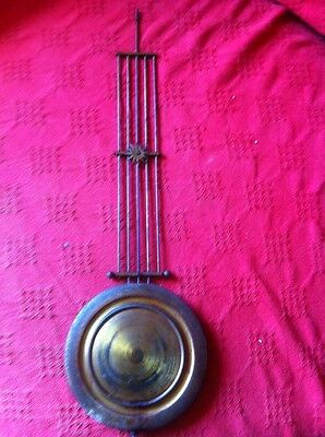 Large Vienna Wall Clock Pendulum