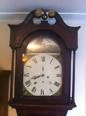 Antique Longcase Clock Spare Or Repair