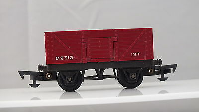R112 Hornby Triang 7 Plank Open Mineral Wagon R/no M2313  Oo Gauge