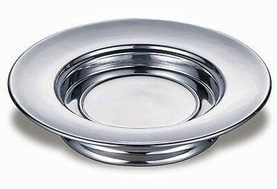 Polished Aluminum Stacking Bread Plate (KC160) NEW for Communion