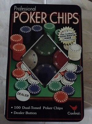Professional Poker Chips Texas Hold'em - Ideal Christmas present