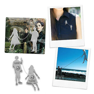 Miss peregrine's home for peculiar children pin badge
