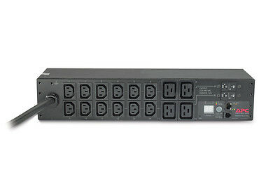APC Rack Power Distribution Unit Metered 2U 32A 230V 12xC13S and 4xC19S