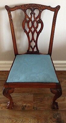 Chippendale Style Child's / Dolls Chair.