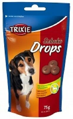 Trixie Choc Drops Dog/Puppy Treats With Vitamins 200g x 2