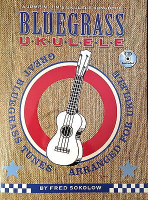 Bluegrass Ukulele by Per Sokolow,21 Canzoni im Clawhammer/Rotolamento/
