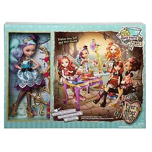 BNIB Ever After High Hat-Tastic Party Playset & Madeline Hatter Doll