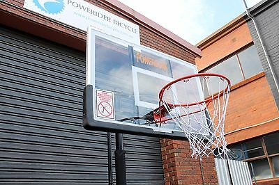 Powerdunk Portable Adjustable Basketball Stand System Slam Height Ring