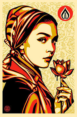 SHEPARD FAIREY (OBEY) - Natural Springs - Lithographie, Digigraphie